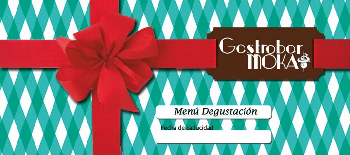 tarjeta regalo menú degustación